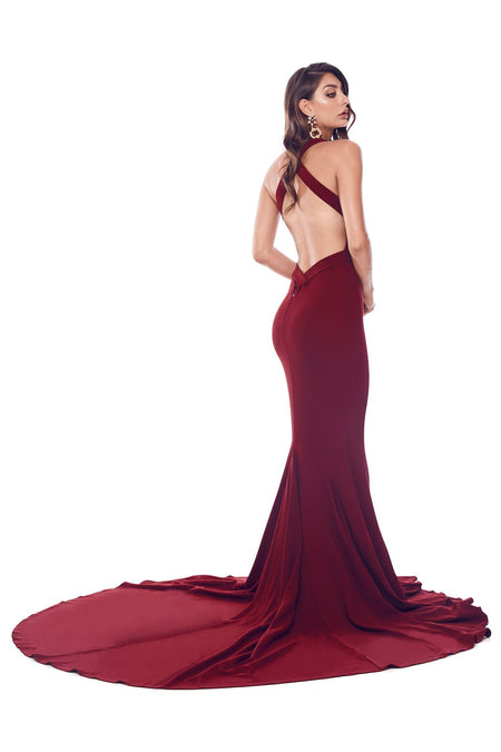 A&N Bridesmaids Ariah Gown - Red