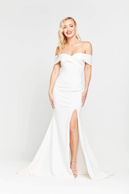 A&N Luxe Malia Gown - White