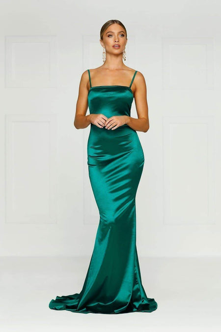 A&N Bridesmaids Amira Gown - Emerald