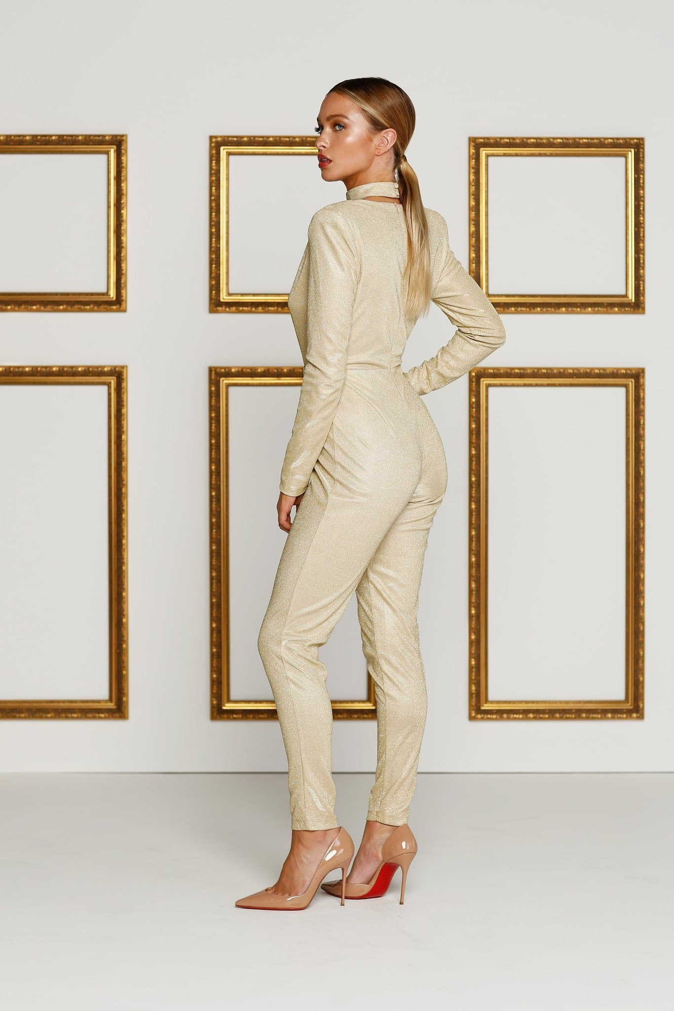 Meiray Jumpsuit - Gold