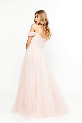 In stock - Lorna Bridesmaids Gown - Blush