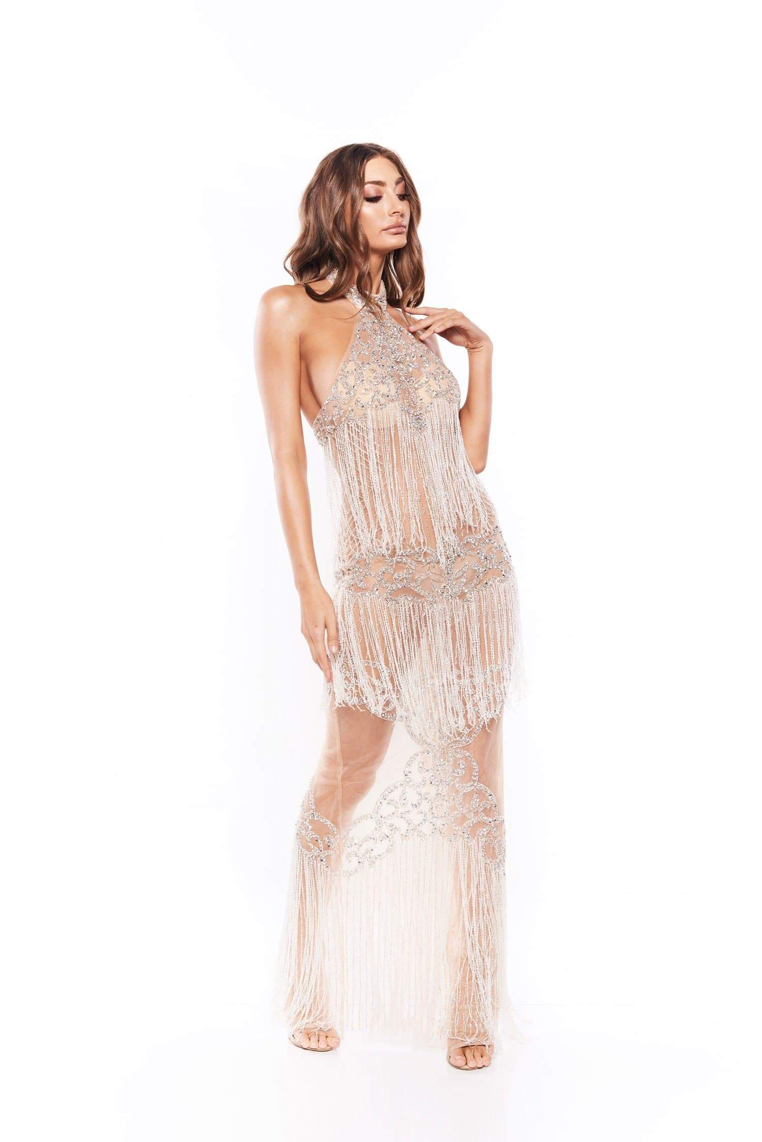 Rocalicia Beaded Gown