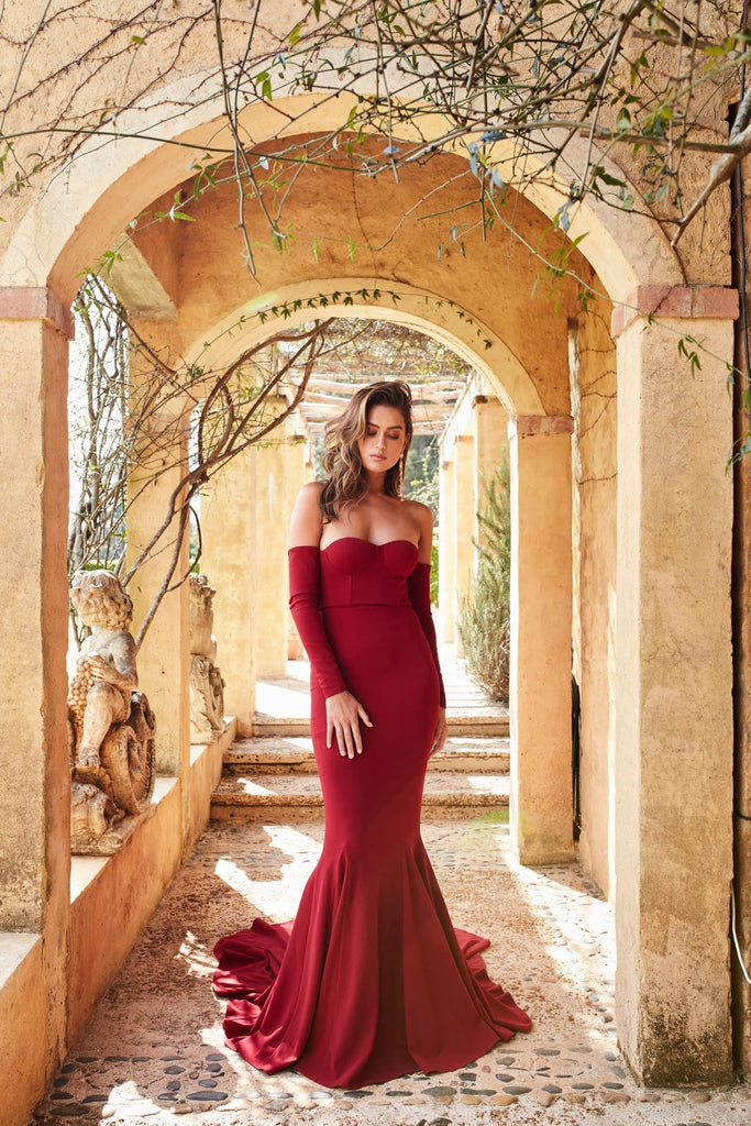 Salma Luxe - Wine Red