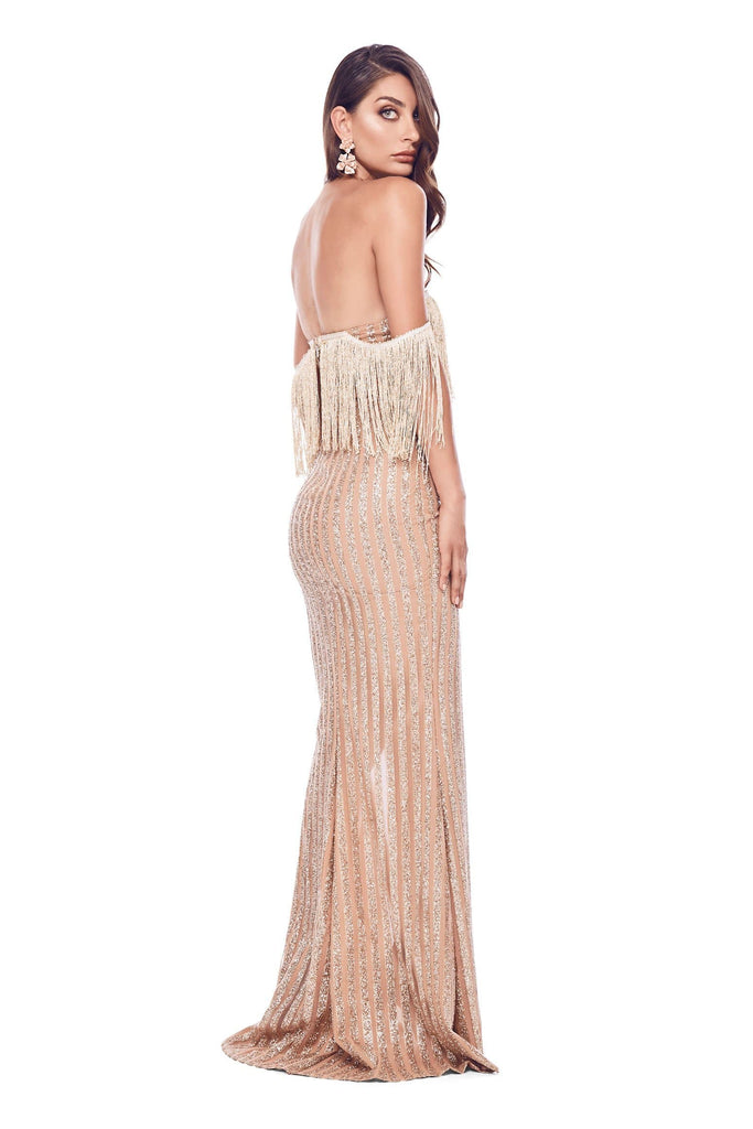 Sabrina Gown - Gold