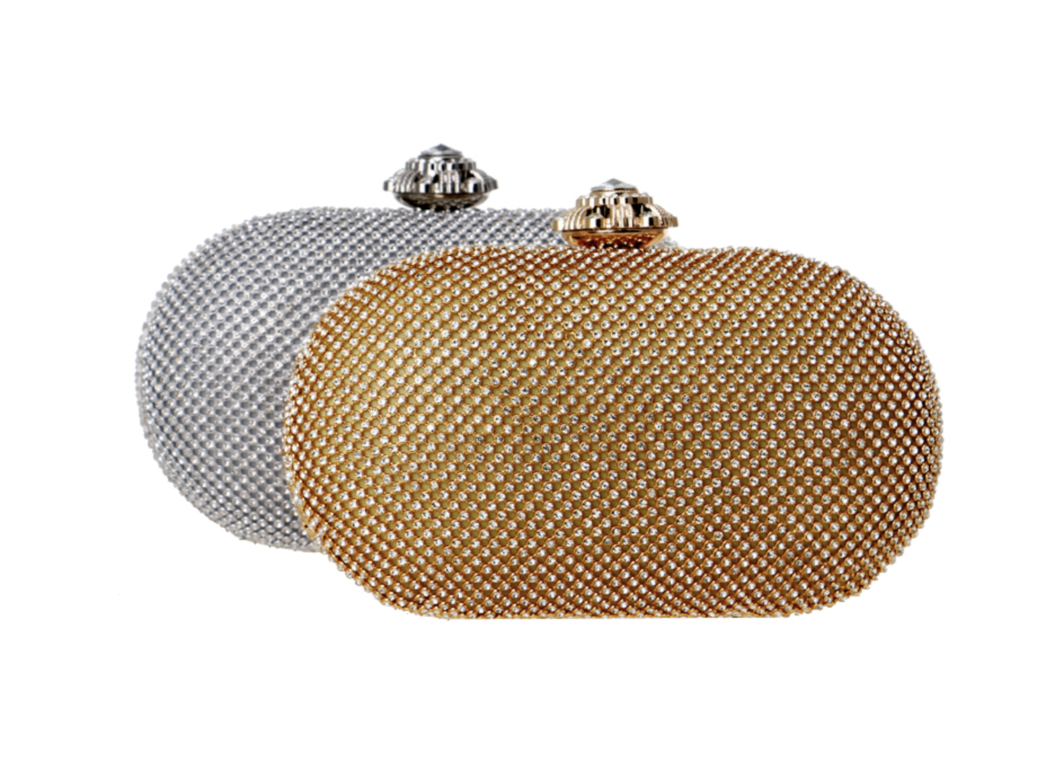 Glazori Kiana Diamond Clutch - Multiple Colours