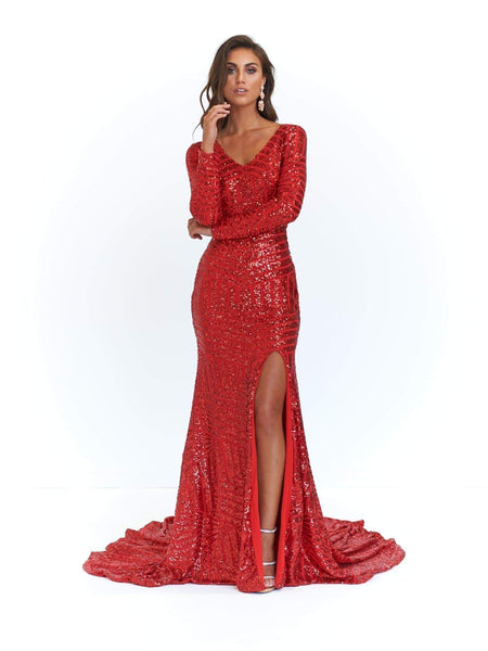 A&N Luxe Kenya Gown - Rose Gold