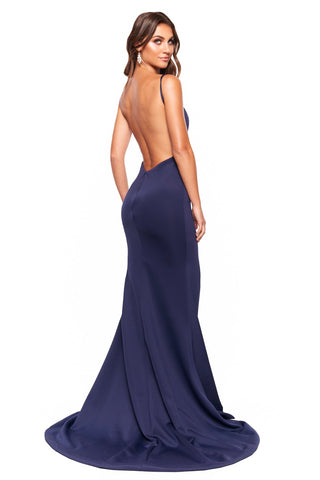 A&N Luxe April Gown - Navy