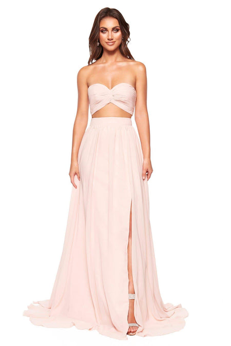 A&N Luxe Rumi Sequin Gown - White
