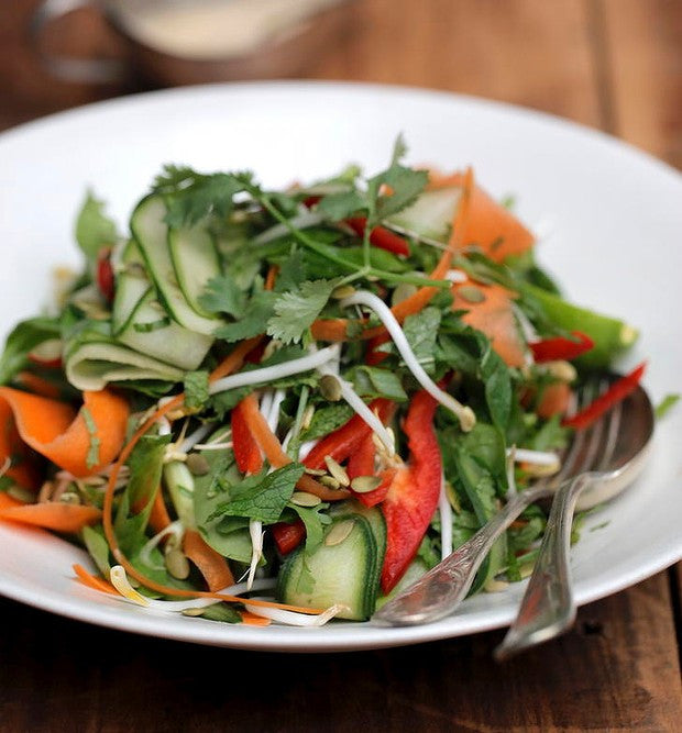Raw Vegetable Pad Thai