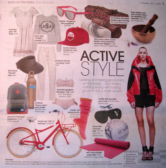 Viva Active Style Fashion Page