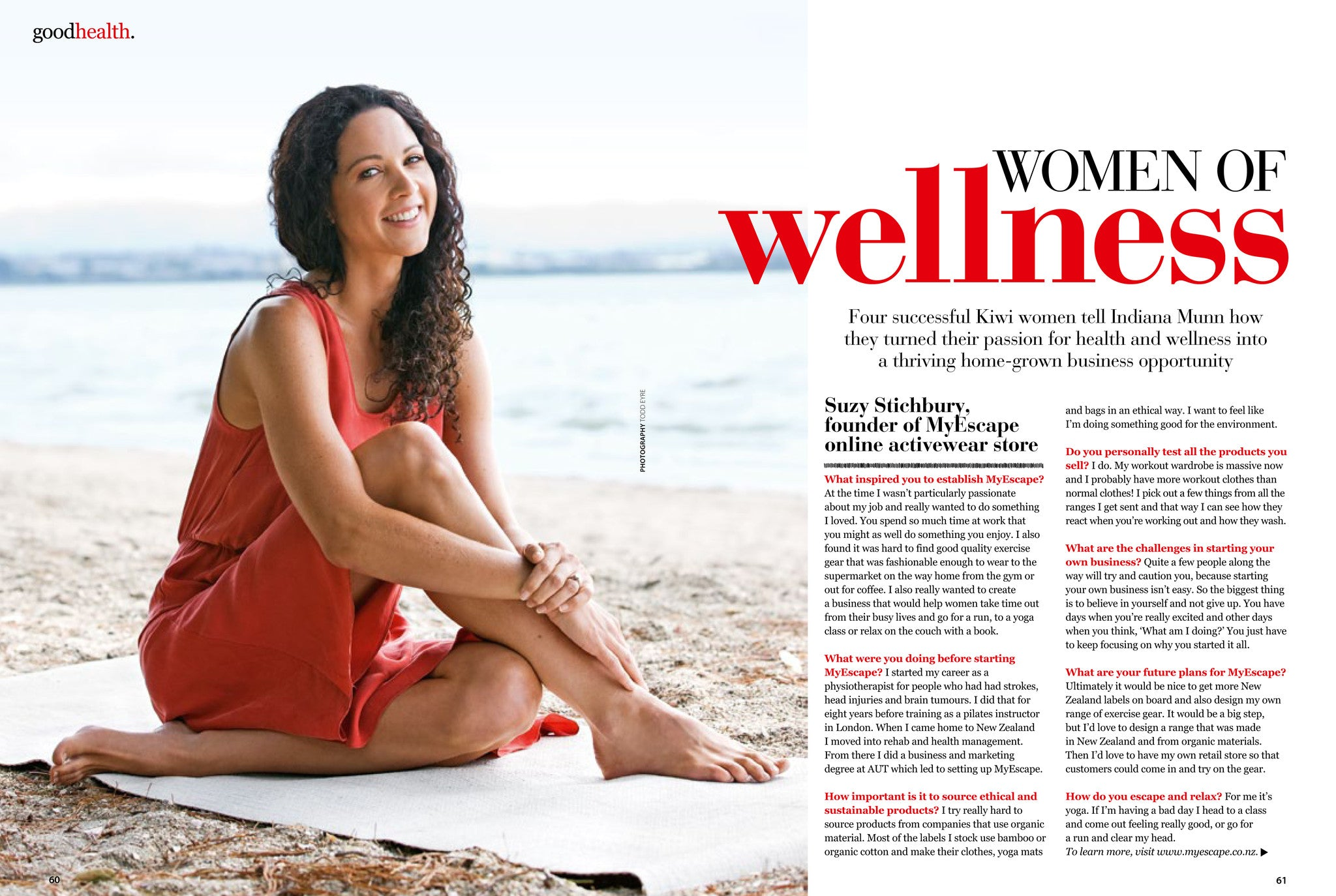 Women of Wellness Article in Good Health
