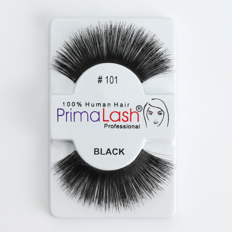PrimaLash Professional 100% Human Hair Strip Lashes Style #101