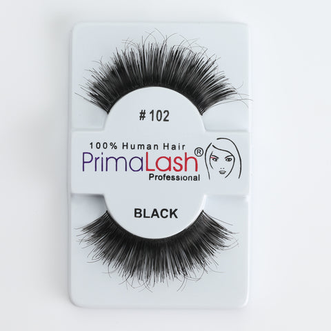 PrimaLash Professional 100% Human Hair Strip Lashes Style #102