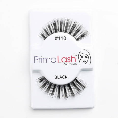 PrimaLash Professional 100% Human Hair Strip Lashes Style #110