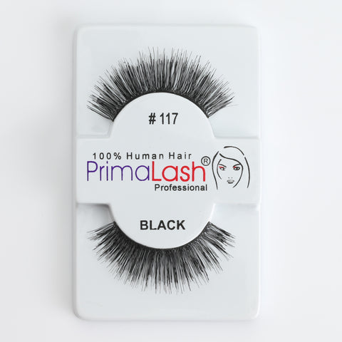 PrimaLash Professional 100% Human Hair Strip Lashes Style #117