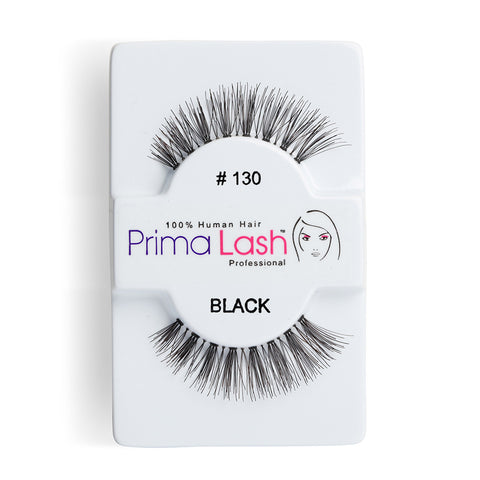 PrimaLash Professional 100% Human Hair Strip Lashes Style #130