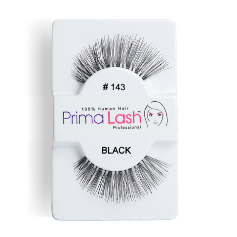 PrimaLash Professional 100% Human Hair Strip Lashes Style #143