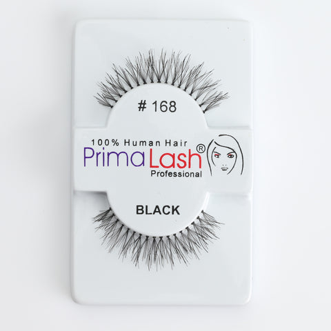 PrimaLash Professional 100% Human Hair Strip Lashes Style #168
