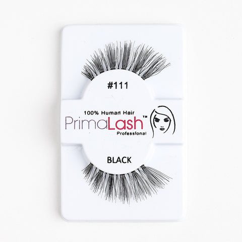 PrimaLash Professional 100% Human Hair Strip Lashes Style #111
