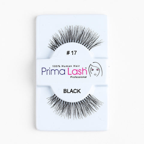 PrimaLash Professional 100% Human Hair Strip Lashes Style #17