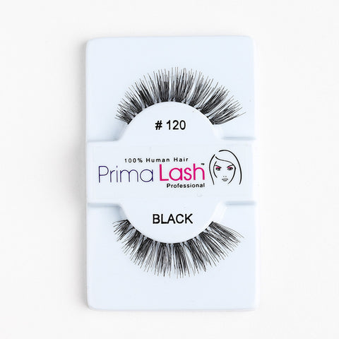 PrimaLash Professional 100% Human Hair Strip Lashes Style #120