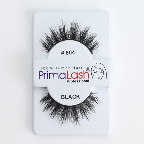 PrimaLash Professional 100% Human Hair Strip Lashes Style #804 (Double Layer Lash)