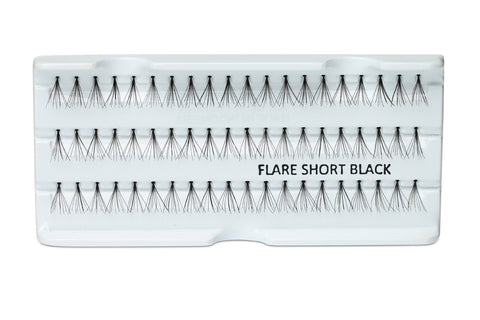 Individual Lashes Knot-free Flare short 8mm