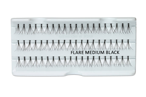 Individual Lashes Knot-free Flare Medium 10mm