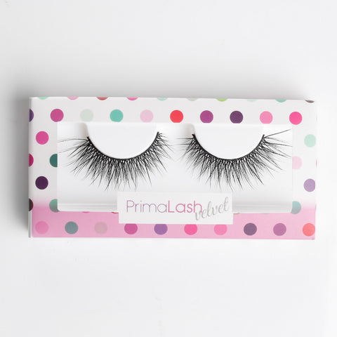 PrimaLash Faux Velvet Lashes #Cherry Pop