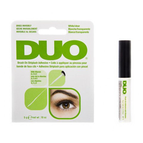 DUO Brush-On Eyelash Adhesive Latex-Free Clear/Dark 5g