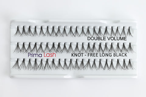 Individual Lashes Double Volume Knot-free Flare Long 12mm