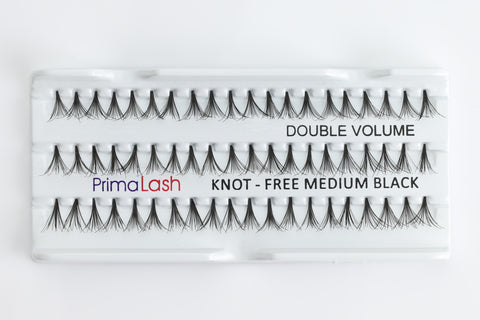 Individual Lashes Double Volume Knot-free Flare Medium 10mm