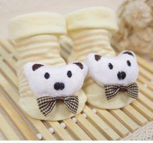 Kids & Baby - Newborn Anti-Slip Cotton Booties