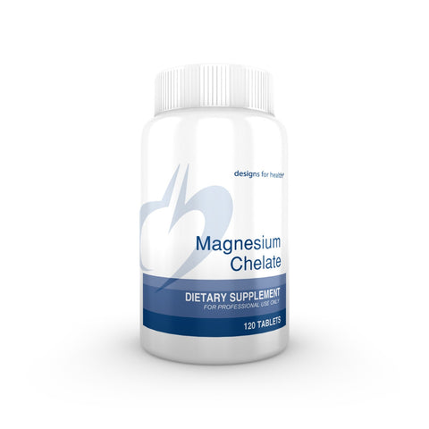 Designs for Health - Magnesium Chelate 120 Tablets