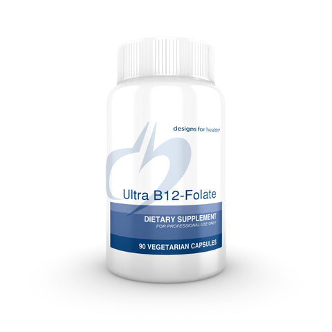 Designs for Health - Ultra B12-Folate 90