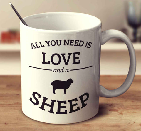 All You Need Is Love And A Sheep
