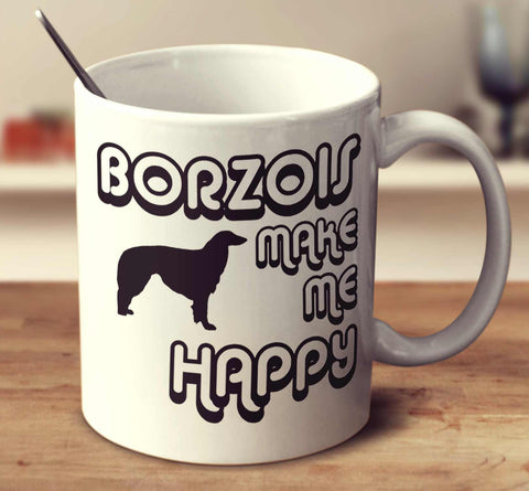 Borzois Make Me Happy 2