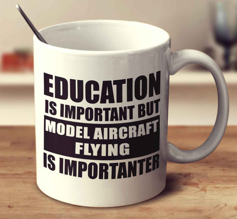 Education Is Important But Model Aircraft Flying Is Importanter