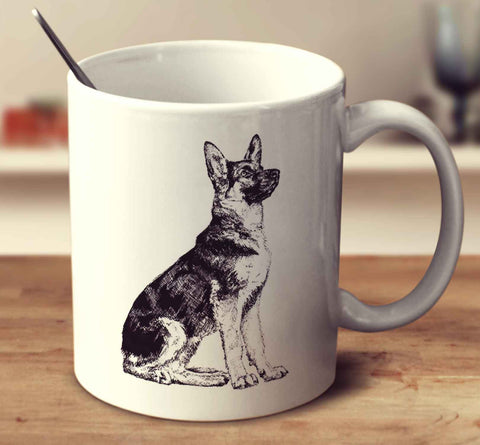 German Shepherd Dog Sketch
