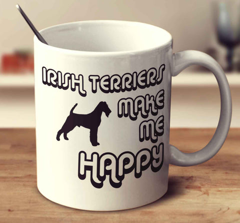 Irish Terriers Make Me Happy 2