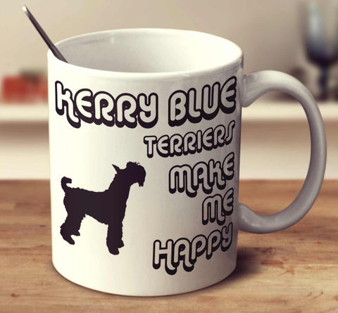 Kerry Blue Terriers Make Me Happy 2