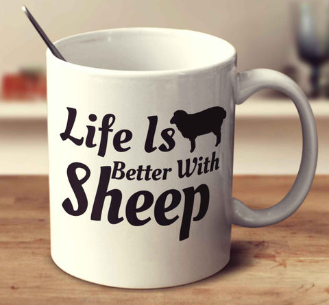 Life Is Better With Sheep
