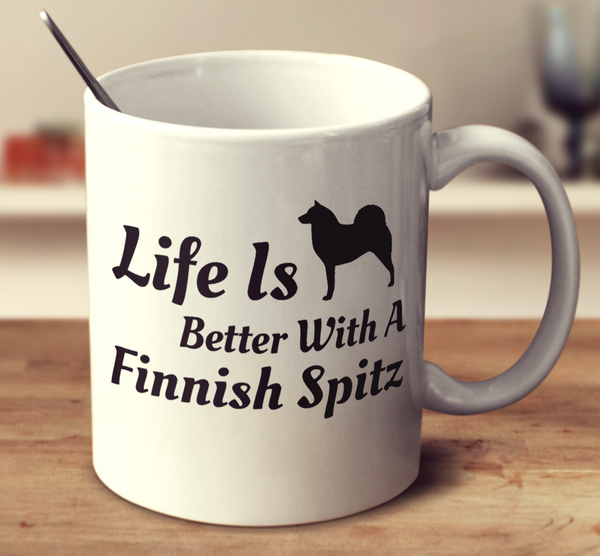 Life Is Better With A Finnish Spitz