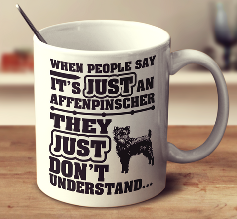When People Say It's Just An Affenpinscher