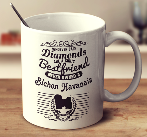 Whoever Said Diamonds Are A Girl's Bestfriend Never Owned A Bichon Havanais
