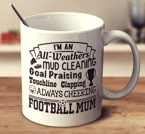 Always Cheering Football Mum