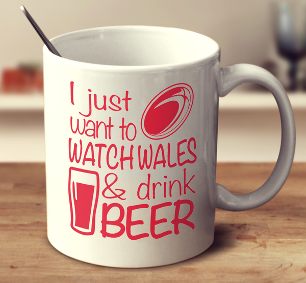 I Just Want To Watch Wales And Drink Beer
