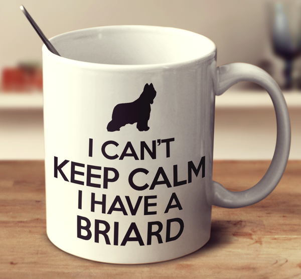 I Can't Keep Calm I Have A Briard