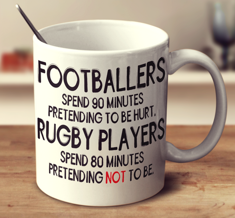 Footballers Vs Rugby Players