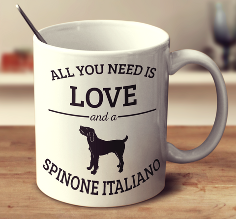 All You Need Is Love And A Spinone Italiano